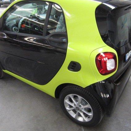personalizzazione carrozzeria auto smart