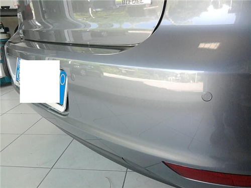 installazione display parcheggio auto