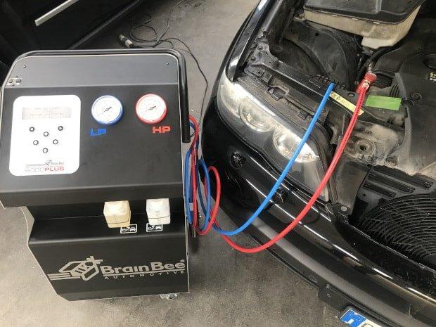 ricarica aria condizionata auto mantova